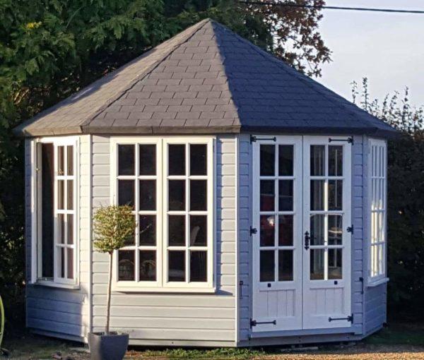 octagonal summer house